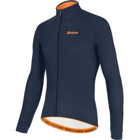 Santini Color LS Jersey Men, nautic blue